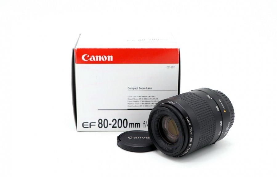 Canon EF 80-200mm f/4.5-5.6 II новый