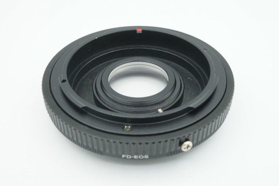 Adapter Canon FD - Canon EOS / EF с линзой