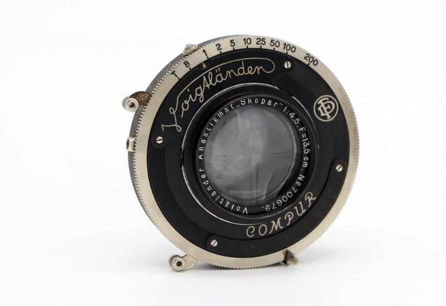 Voigtlander Anastigmat Skopar 4.5/13.5cm 1935г