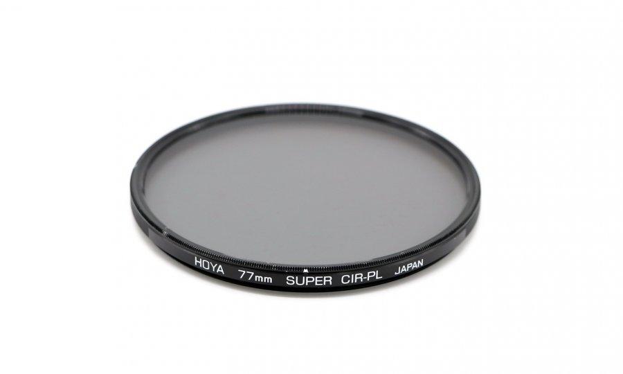 Cветофильтр HOYA 77mm Super CIR-PL Japan