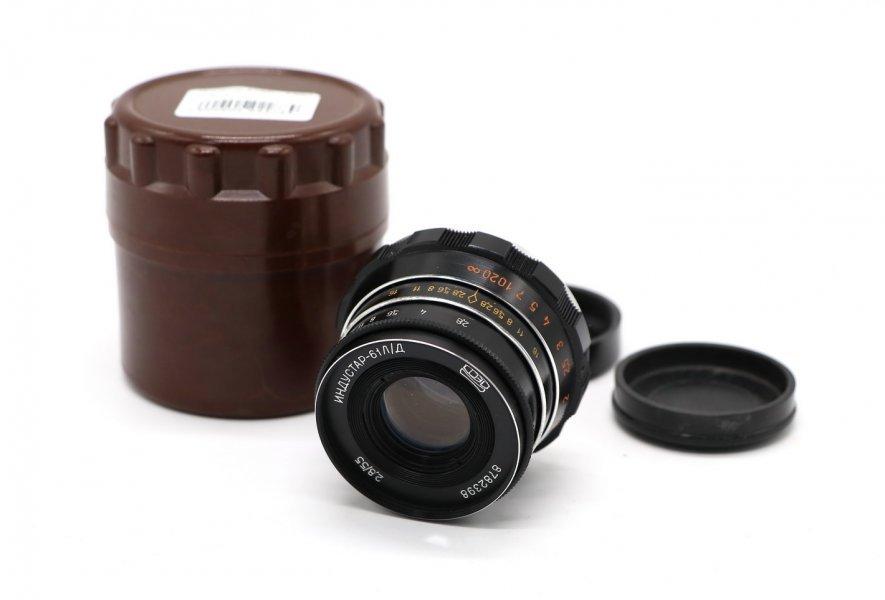 Новый Индустар-61Л/Д 2,8/53 М39 в упаковке