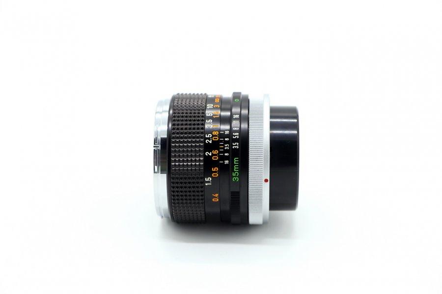 Canon FD 3.5/35mm