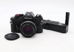 Nikon EM + Nikon 50mm f/1.8 (Japan, 1980)