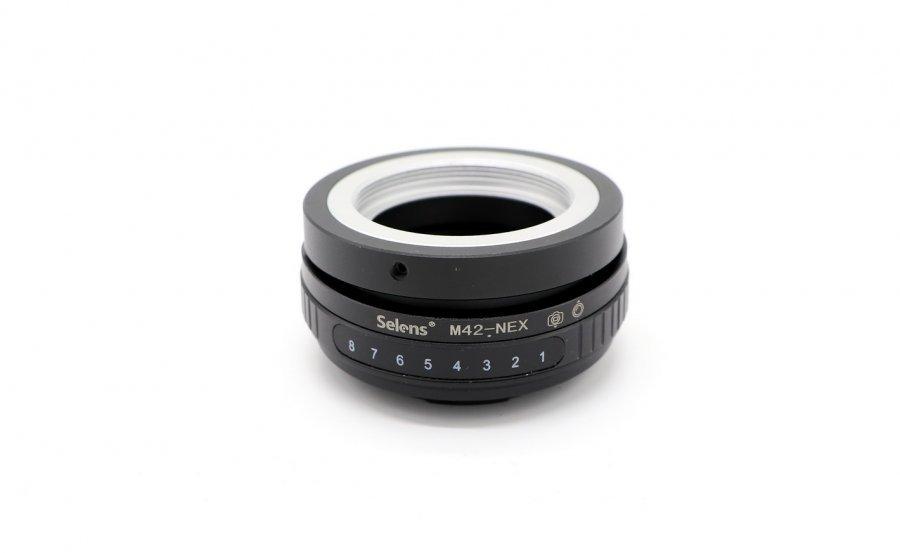 Adapter Tilt Shift M42 - Sony Nex