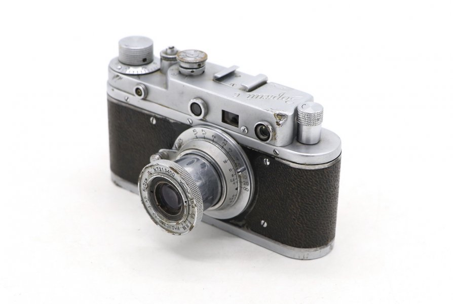 Зоркий-С + Индустар-22 (СССР, 1958г.)