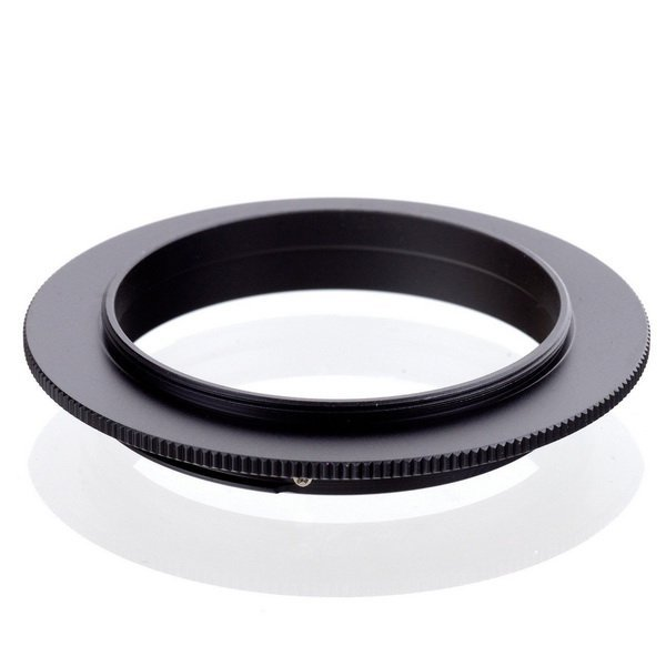 Адаптер 49mm - Canon EOS реверсивный