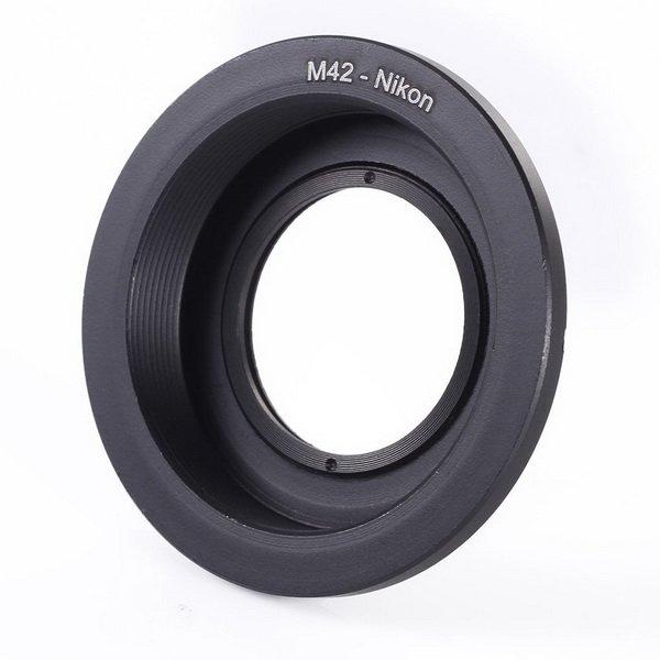 Переходник (адаптер) М42 - Nikon с линзой