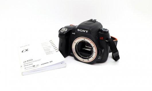 Sony A450 body (пробег 7К)