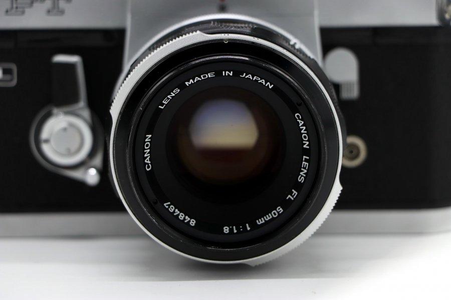 Canon FT QL + Canon FL 50mm/1.8 (Japan, 1967)
