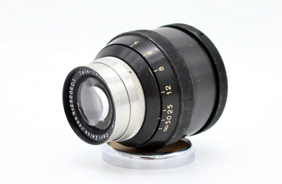 Tele-Tessar 6.3/180mm Carl Zeiss Jena (Germany, 1942)