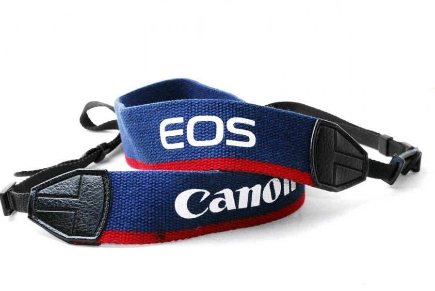 Ремень Canon EOS retro style