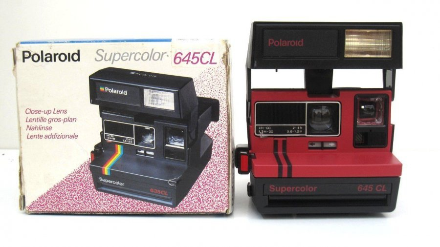 Polaroid 645CL Supercolor (UK, 1986)