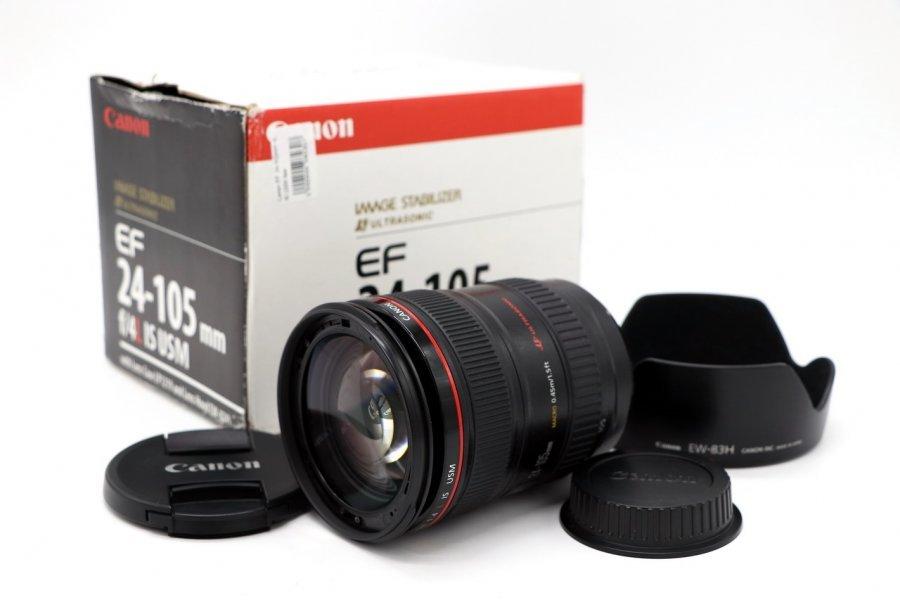 Canon EF 24-105mm 4L IS USM в упаковке