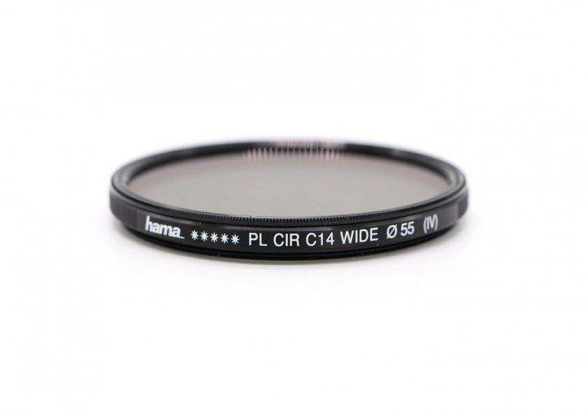 Светофильтр Hama PL CIR C14 WIDE 55mm