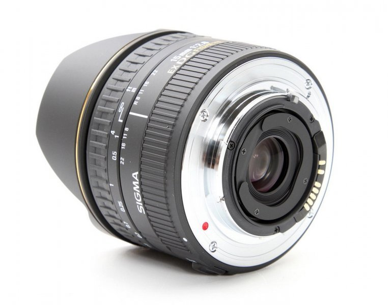 Sigma AF 15mm f/2.8 EX DG DIAGONAL FISHEYE Canon EF
