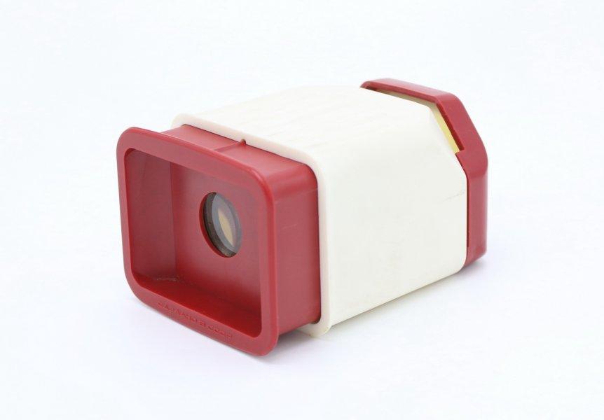 Лупа для просмотра фотопленки (белая)