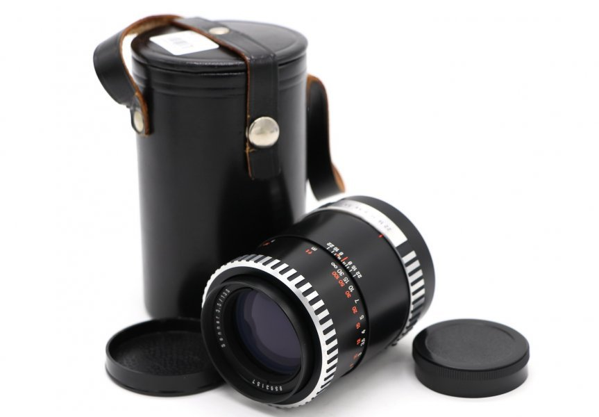Sonnar 3.5/135 Carl Zeiss Jena зебра