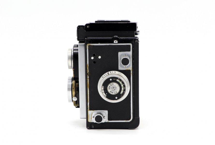 Ikoflex + Novar-Anastigmat 3.5/75mm