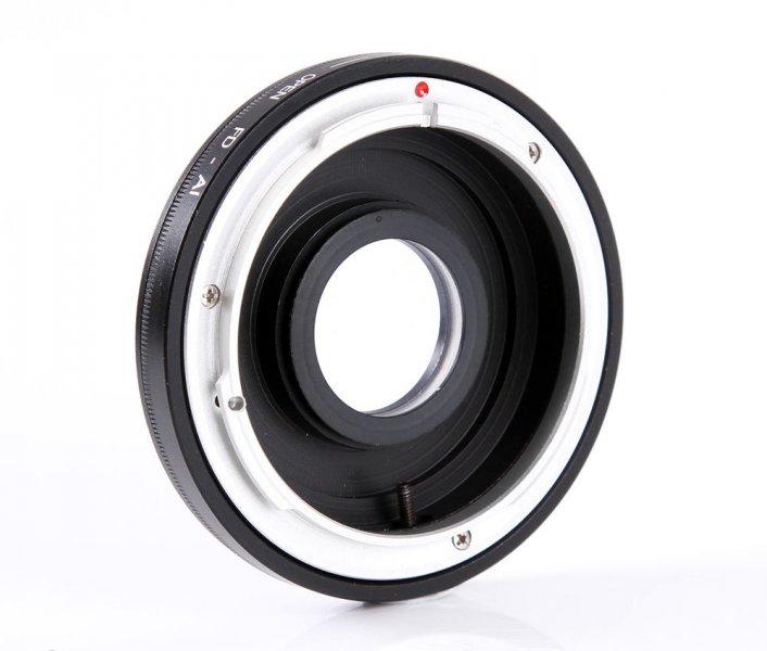 Переходник Canon FD - Nikon F
