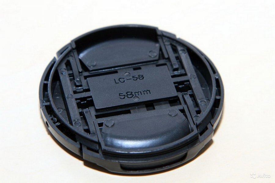Крышка передняя для объектива 58 mm