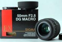 Sigma AF 50mm f/2.8D EX MACRO Nikon F