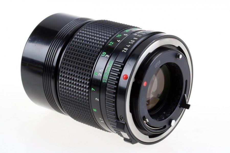 Canon FD 2.8/135mm (Japan, 1985)