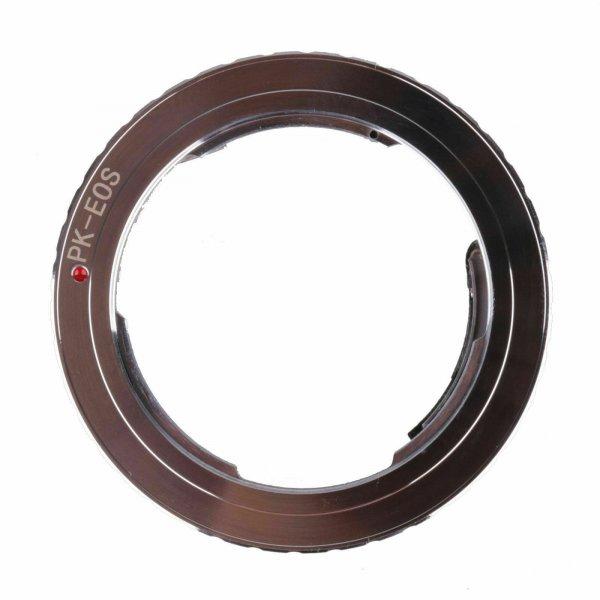 Adapter Pentax K - Canon EOS с чипом