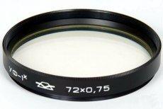 Светофильтр УФ-1Х 72х0.75 /UV 72мм