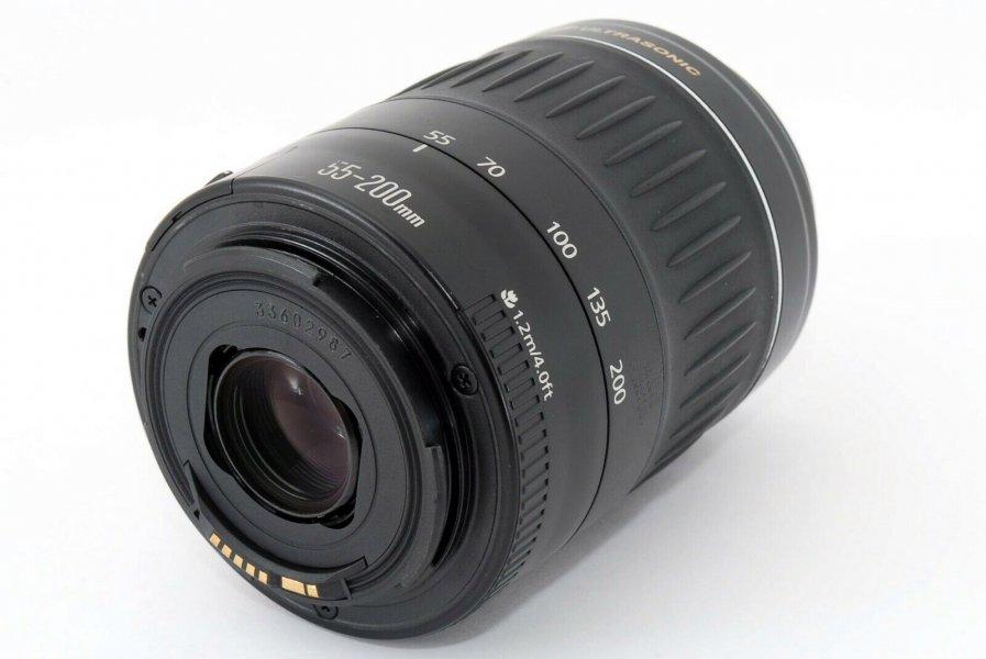 Canon EF 55-200mm 4.5-5.6 II USM