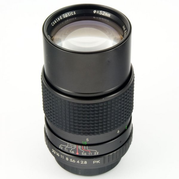 JCPenney Coated Optics 2,8/135 Pentax K