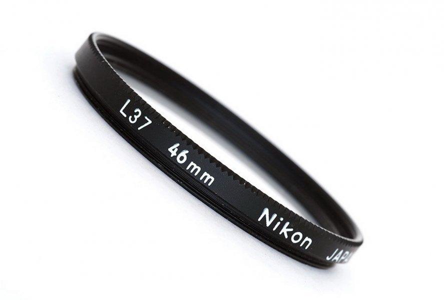 Светофильтр Nikon L37 46mm (Japan, 2003)