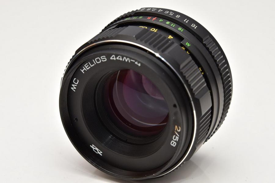 Новый Гелиос 44м-4 МС f2/58mm M42