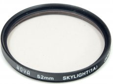 Светофильтр Hoya 52mm Skylight (1A) Japan