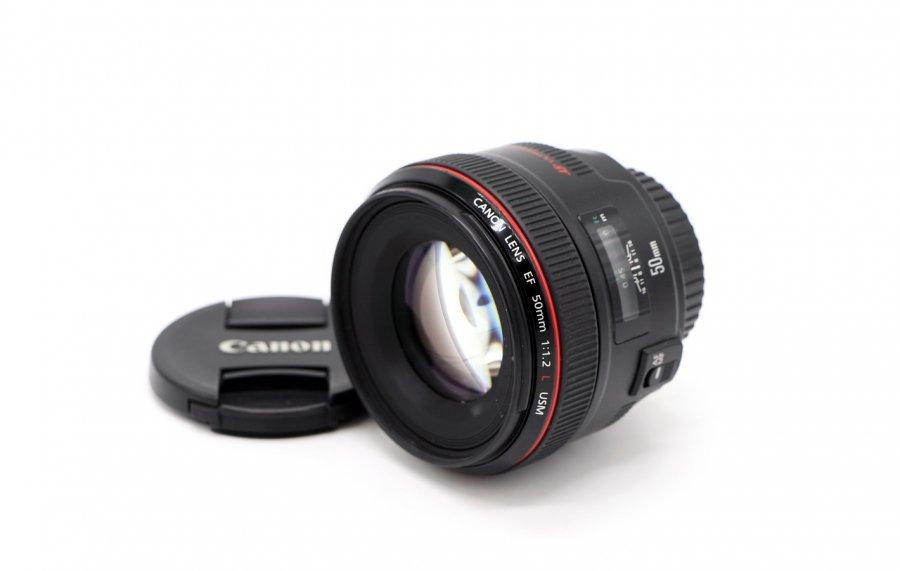 Canon EF 50mm f/1.2L USM в упаковке