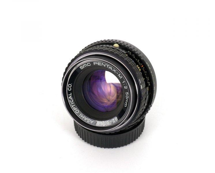 Pentax-M SMC 2/50mm (Japan, 1982)