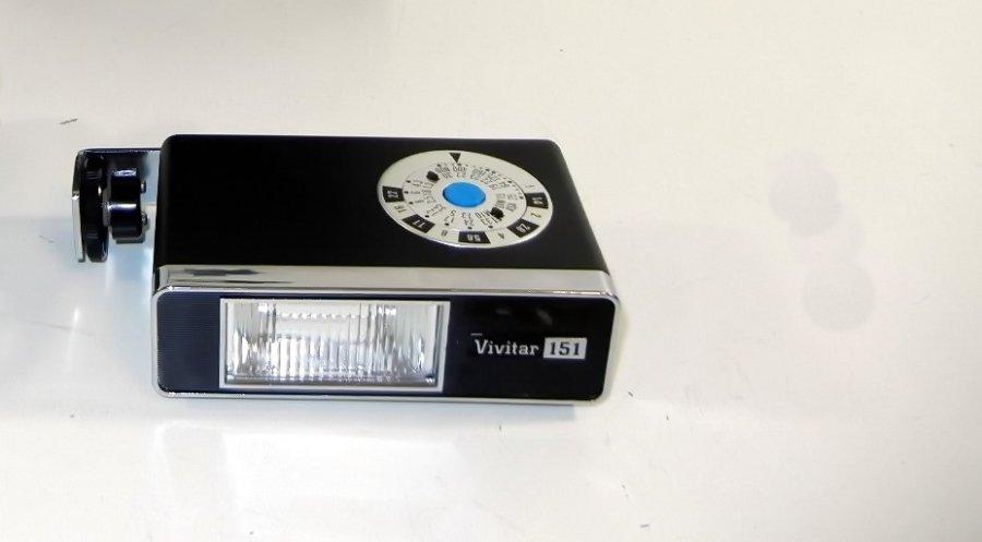 Фотовспышка Vivitar 151 (Japan, 1980)