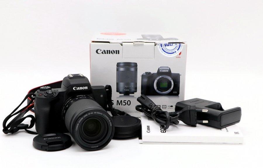 Canon M50 kit 18-150mm новый
