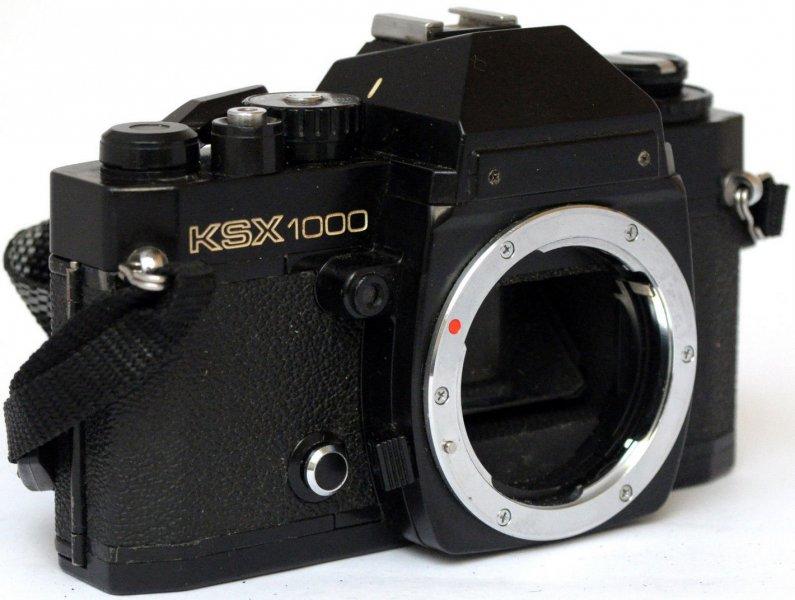 Pentax KSX 1000 (Japan, 1976)