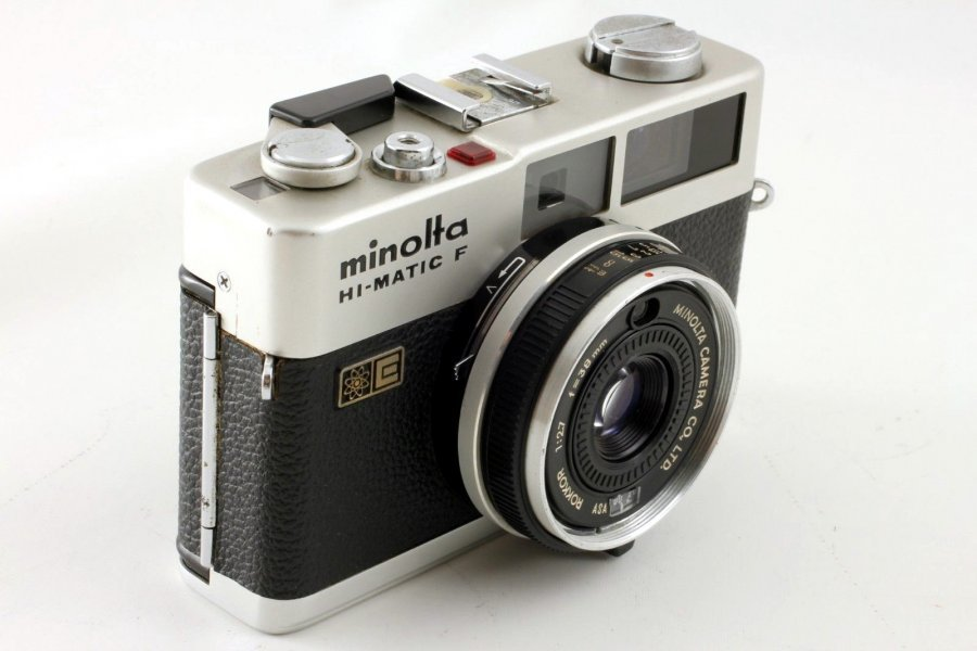 Minolta Hi-Matic F (Japan, 1975)