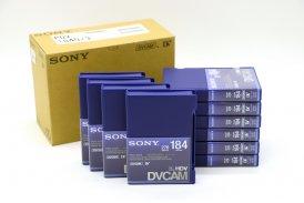 Видеокассеты Sony PDV-184N новые, 10 шт упаковка