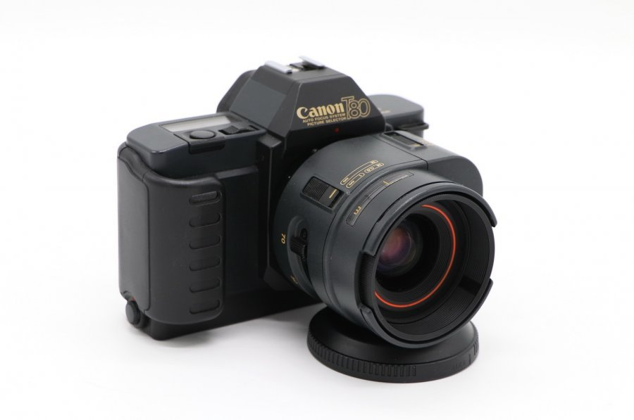 Canon T80 kit (Japan, 1985)