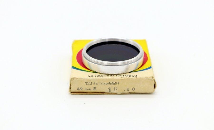 Светофильтр Foto-optik 49mm 123 5х (blauviolett)