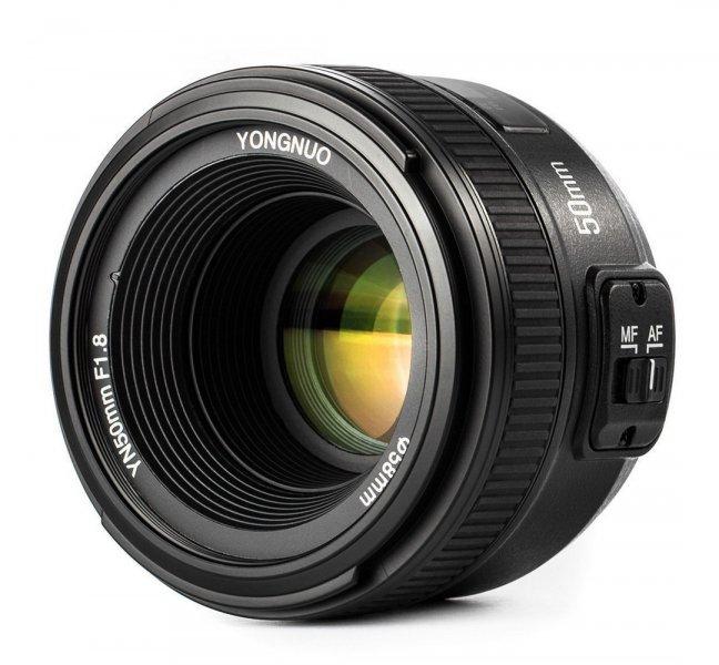 YongNuo AF 50mm f/1.8 Nikon F