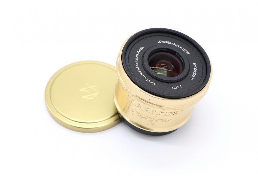 Lomogon 2.5/32 для Canon