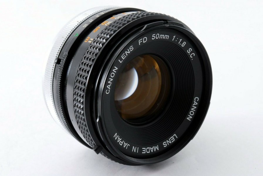 Canon FD 1.8/50mm S.C. (Japan, 1973)