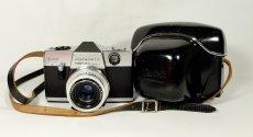 Kodak Instamatic Reflex + Xenar 2.8/45