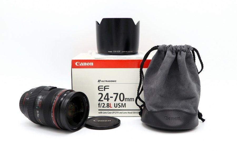 Canon EF 24-70mm f/2.8 L USM в упаковке
