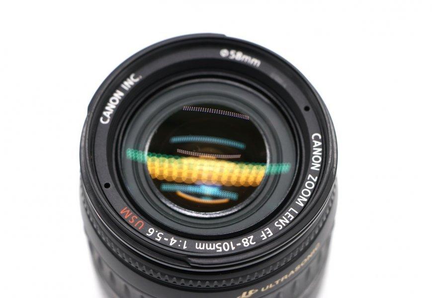 Canon EF 28-105mm f/4-5.6 USM в упаковке