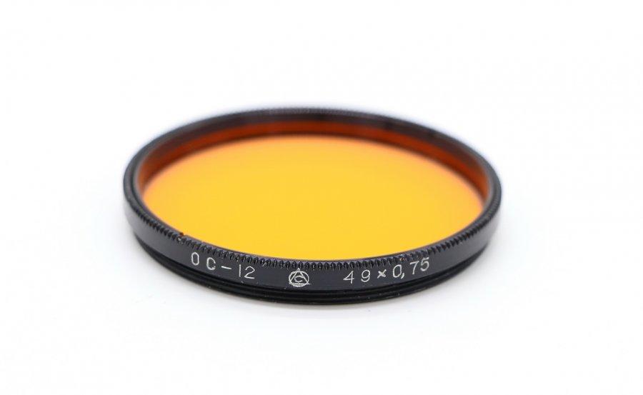 Светофильтр ОС-12 49х0,75