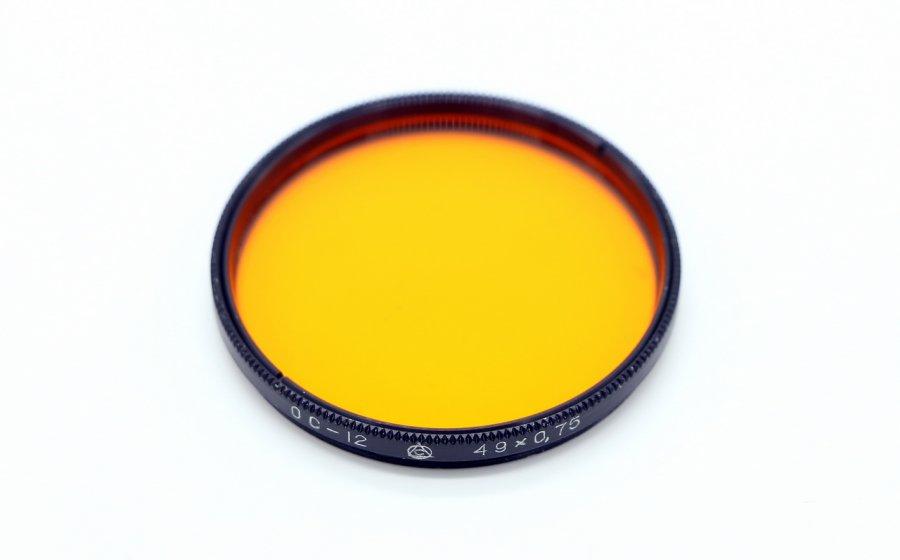 Светофильтр ОС-12 49х0,5